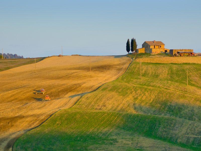 Heuvellandschap toscane