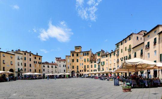 Op stap in Lucca