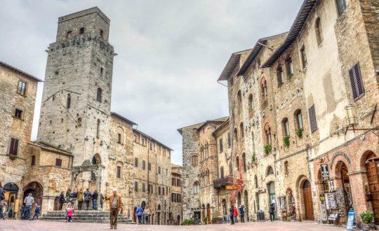 Een dagje in San Gimignano