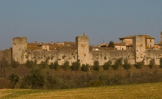 Stedentip: vestingsstad Monteriggioni