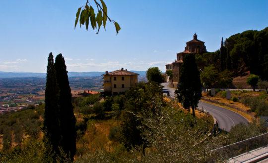 Cortona, de oude stad