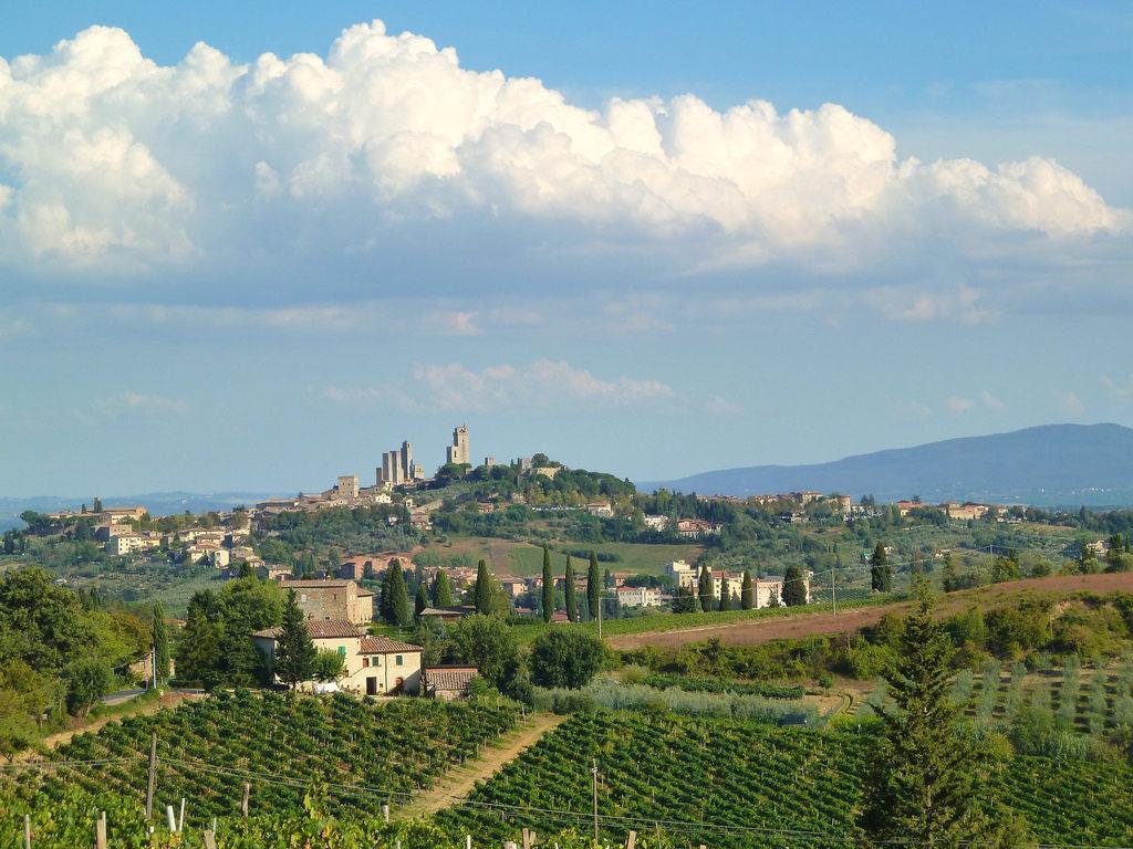 vakantie in Toscane landschap