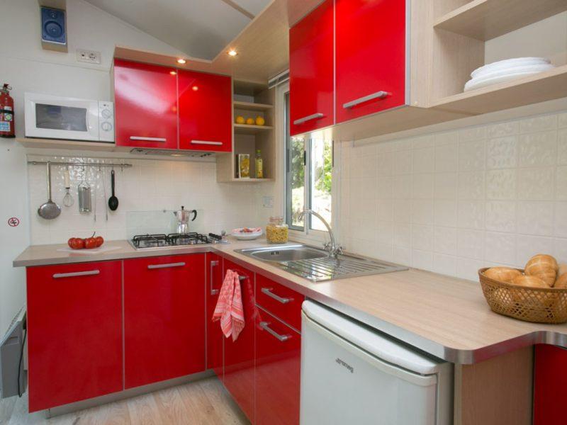 Selectcamp stacaravan keuken