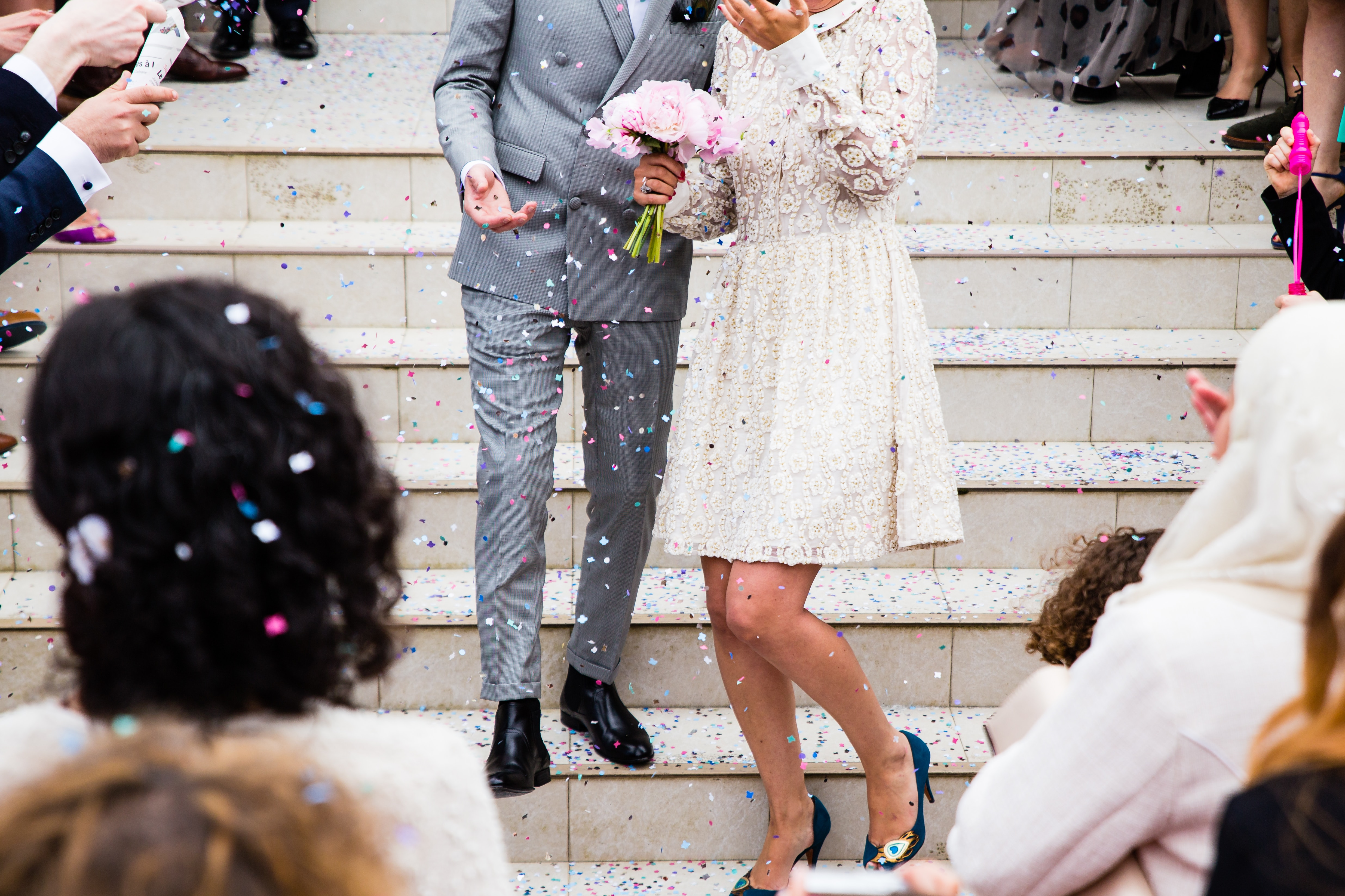 trouwen in Toscane in een stad