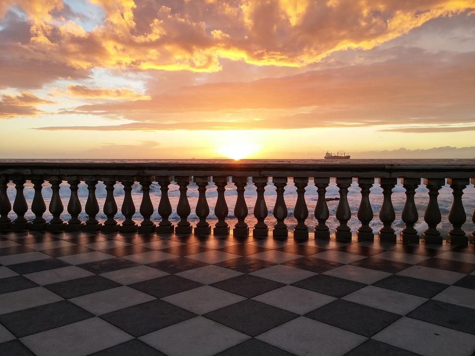 Livorno - Zonsondergang
