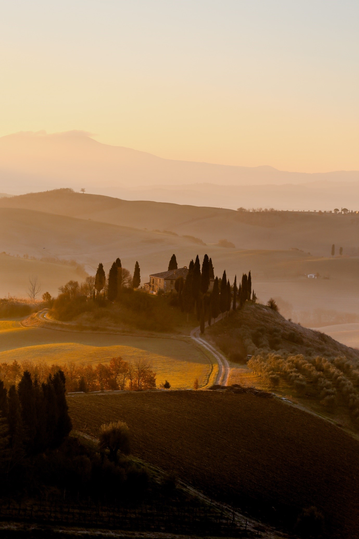 Motorroutes, Val D'Orcia
