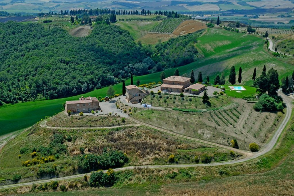 Uitzicht over Agriturismo San Lorenzo