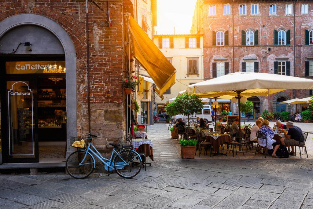 Lucca een mooi plaatsje in Toscane