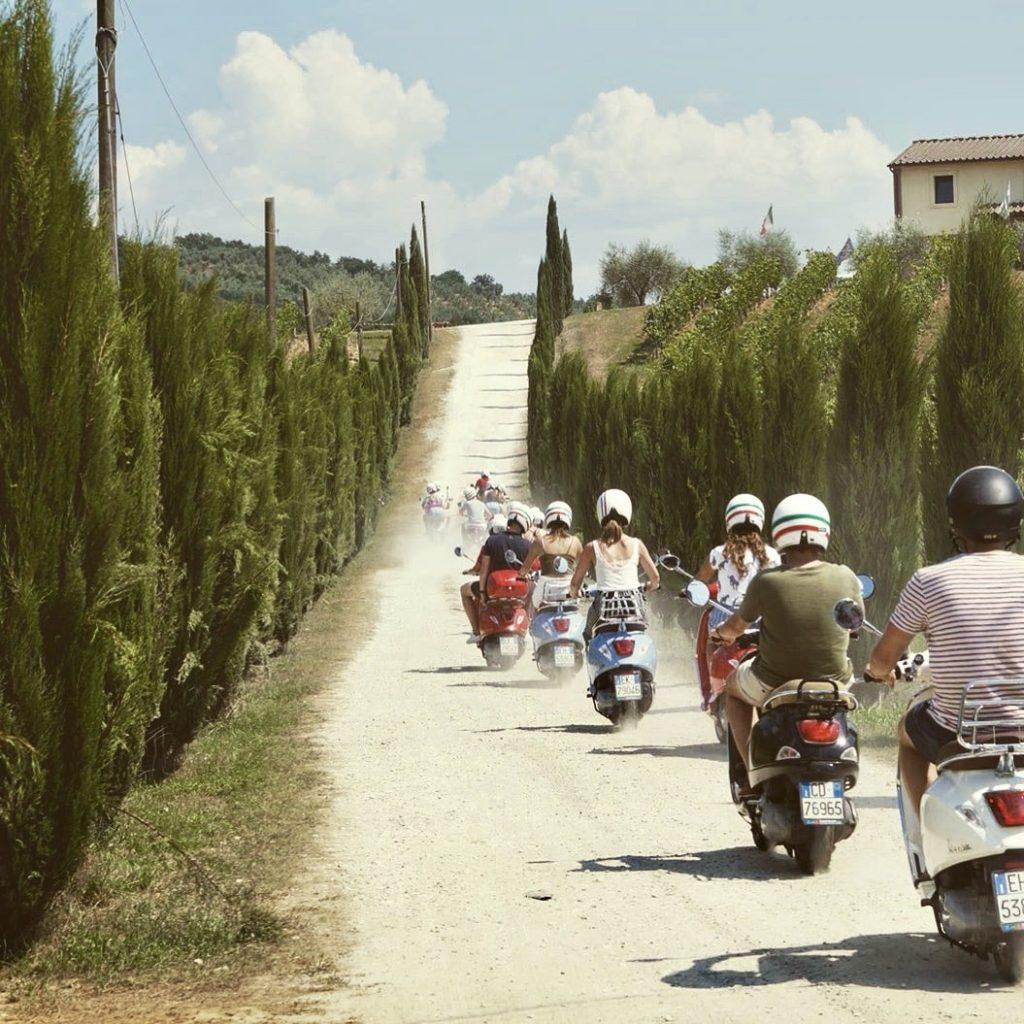 Vespa-tour Invespino